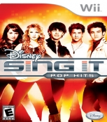 Disney Sing It Pop Hits [Wii Game]